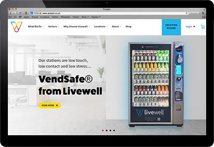 Livewell Vending Screenshot